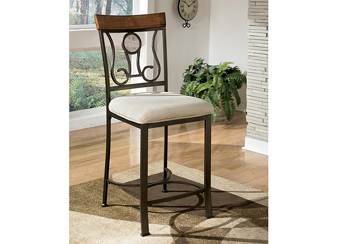 Hopstand Upholstered Barstool (Set of 4) - Jaimes Furniture