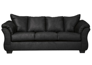Darcy Black Sofa - Jaimes Furniture