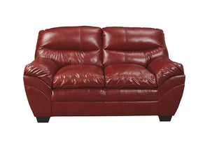 Tassler DuraBlend Crimson Loveseat - Jaimes Furniture
