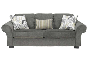 Makonnen Charcoal Sofa - Jaimes Furniture