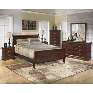 Alisdair B376 6 pc Queen Sleigh Bedroom Set (Bedroom) - Jaimes Furniture