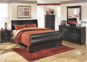 Huey Vineyard King Sleigh Bed - Jaimes Furniture