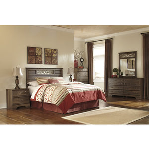 Allymore B216 5 pc Queen/Full Bedroom Set (Bedroom) - Jaimes Furniture