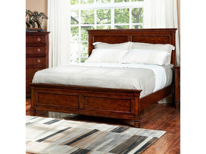 Tamarack Queen Panel Headboard and Footboard Bed by New Classic - Jaimes Furniture