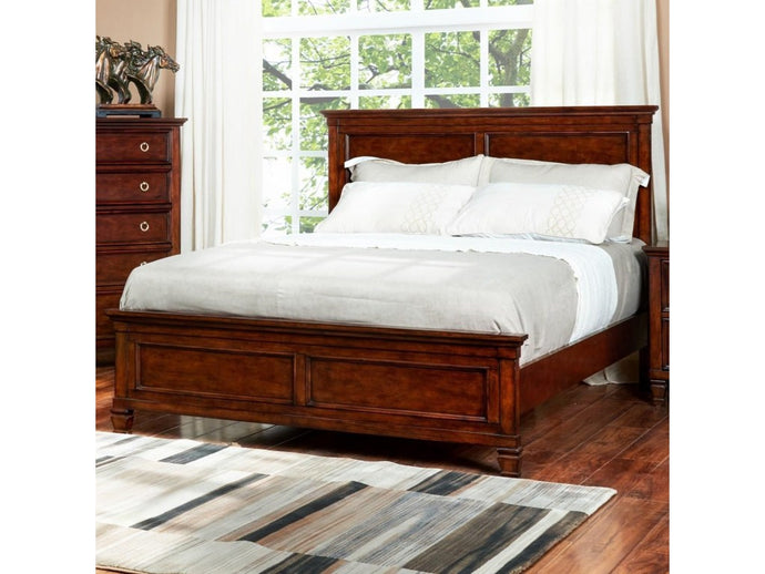 Tamarack Queen Panel Headboard and Footboard Bed by New Classic