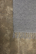 plain cotton and jute rug