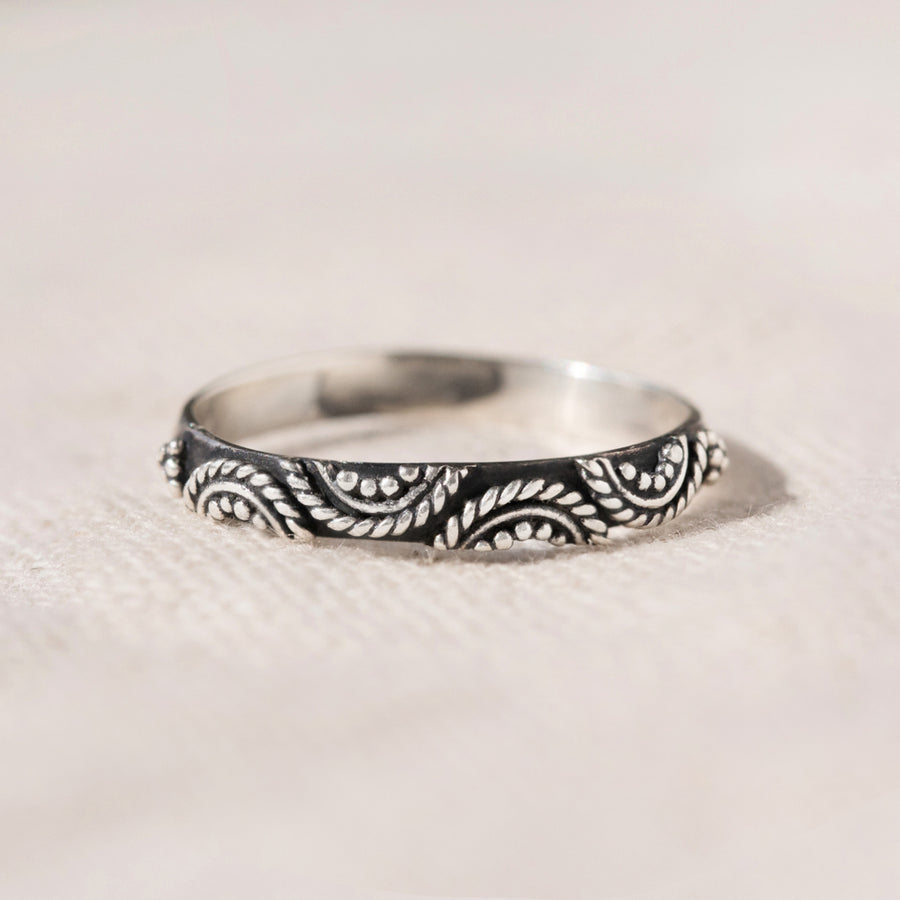 Brighton - Handmade Sterling Silver Thin Stacking Ring
