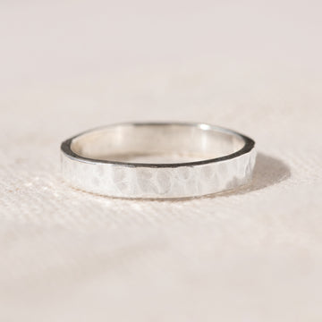 Agonda - Handmade Medium Plain Stacking Ring