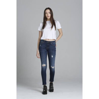 VIGOSS JAGGER SKINNY DENIM WITH DISTRESS