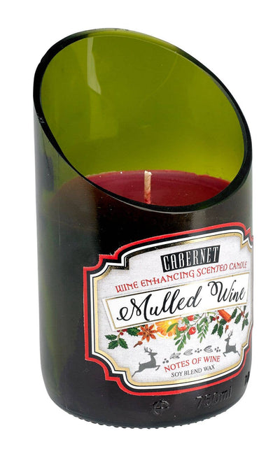 DecoBreeze - Holiday Wine Candle - Mulled Wine