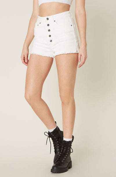 BB DAKOTA DOWN TO BUSINESS DENIM SHORTS