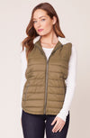 BB DAKOTA TAKE ON ME QUILTED VEST-FINAL SALE