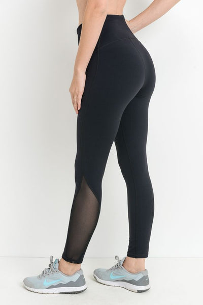 MANTRA VIE SNEAKY PEEK LEGGING-FINAL SALE