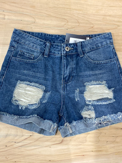 BEST DISTRESSED DENIM SHORTS