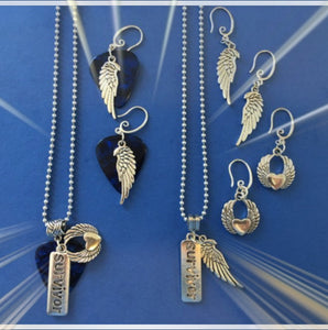 Receive either a FREE Survivor Pendant or Earrings with any CD Purchase!!!