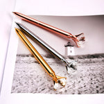 Diamond Top Ball Point Pen - hauzstyle.com
