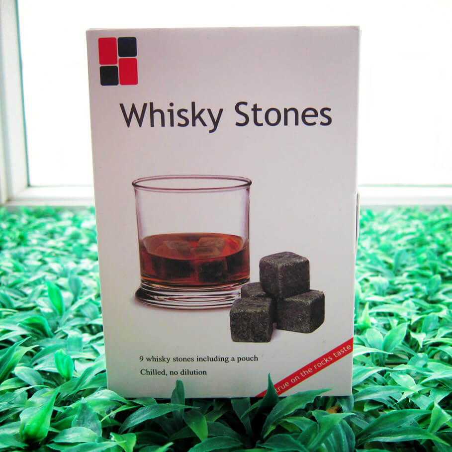 Stone Cold -  Natural Whiskey Stone Box Set - hauzstyle.com