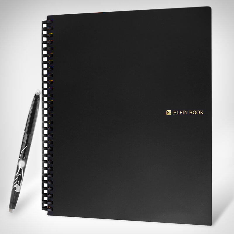Elfin Book 2 - Reusable Smart Notebook - hauzstyle.com