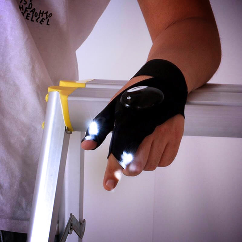 LED Flashlights Gloves - hauzstyle.com
