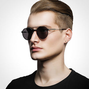 ROUGUE - Unisex Double-Bridge Sunglasses - hauzstyle.com
