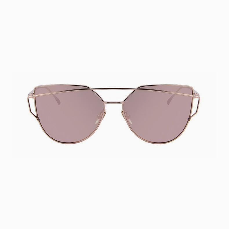 Olivia - Cross Bow Cat Eye Sunglasses - hauzstyle.com