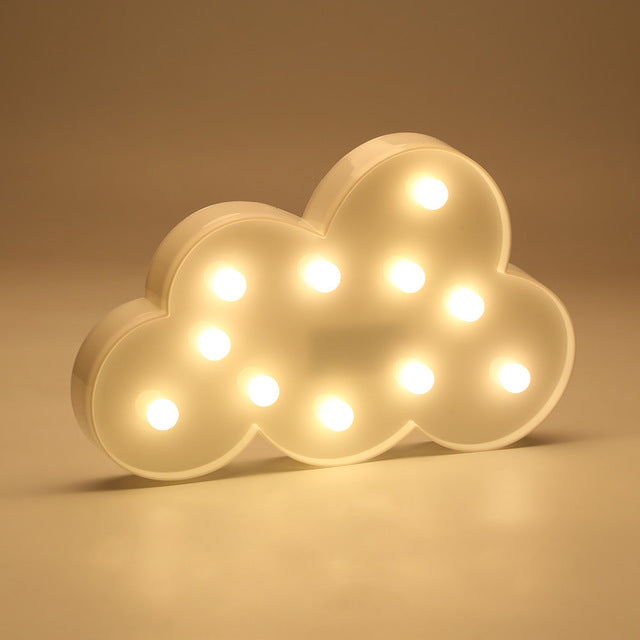 Retro Cloud  Night Light - hauzstyle.com