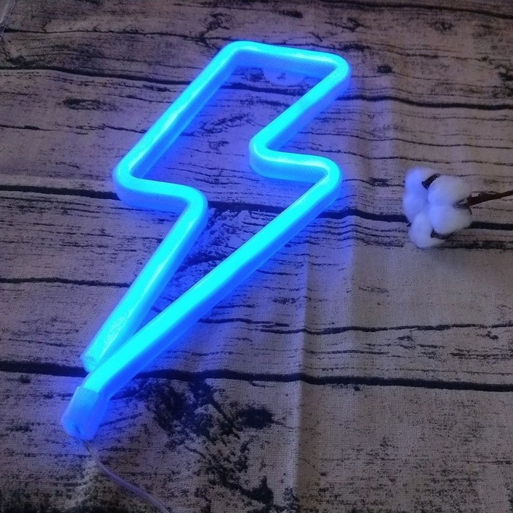 BOLT - LED NEON SIGN | Wall Light - hauzstyle.com