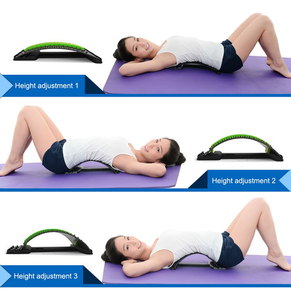 Dr. Stretch - Back Massage Stretcher and Lumbar Support Relaxation - hauzstyle.com