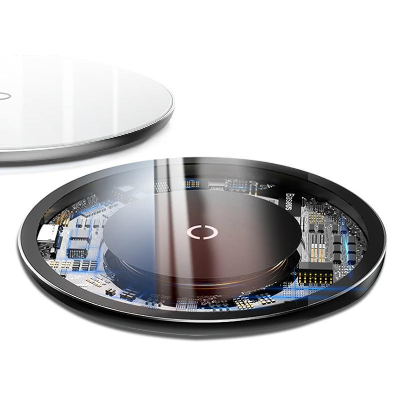 GLASS - Qi Ultra Fast Wireless Charger - hauzstyle.com