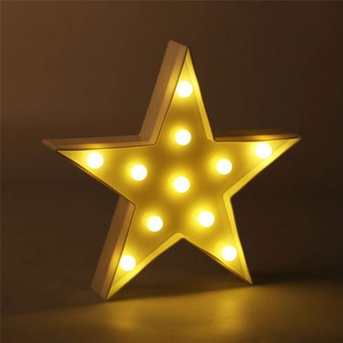 Star Light- Vintage Carnival Inspired Light - hauzstyle.com
