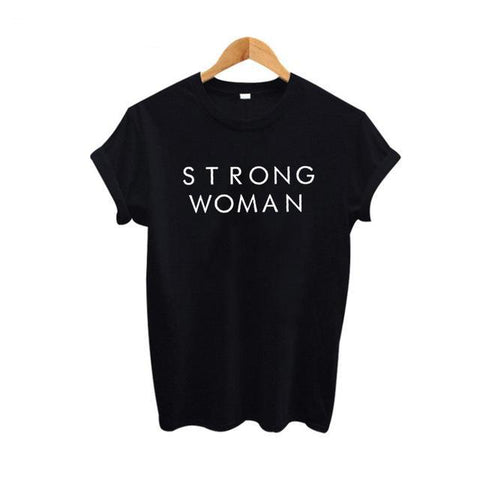 Strong Woman Tee , 2 Colors