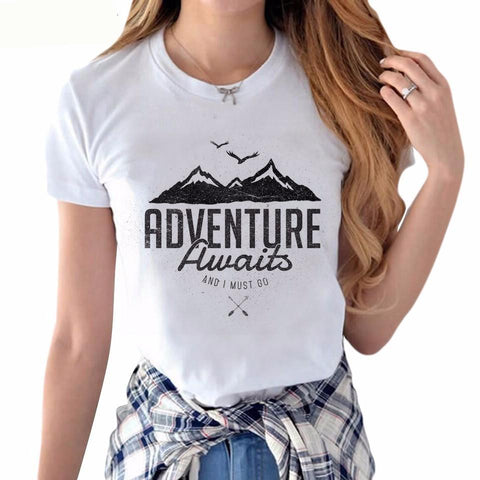 Women's Adventure Mountain Tee