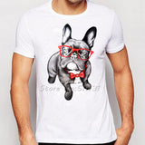 Men's French Bulldog T-Shirt, 3 Prints to Choose From