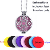 Aromatherapy Diffuser Locket Pendant. Helps you Keep Calm and Carry On!