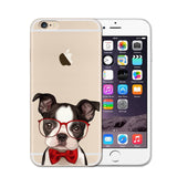 Silly Dog! Transparent Cases For iPhone
