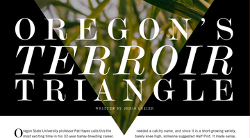 Oregon's Terrior Triangle