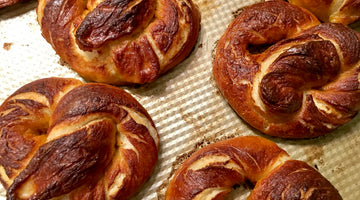 Soft Pretzels with Beer Cheese Dipping Sauce