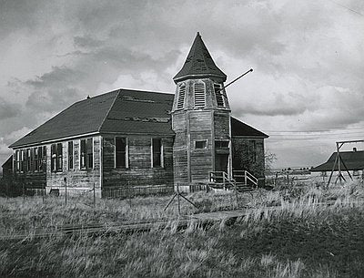 Schoolhouse in Shaniko, Oregon