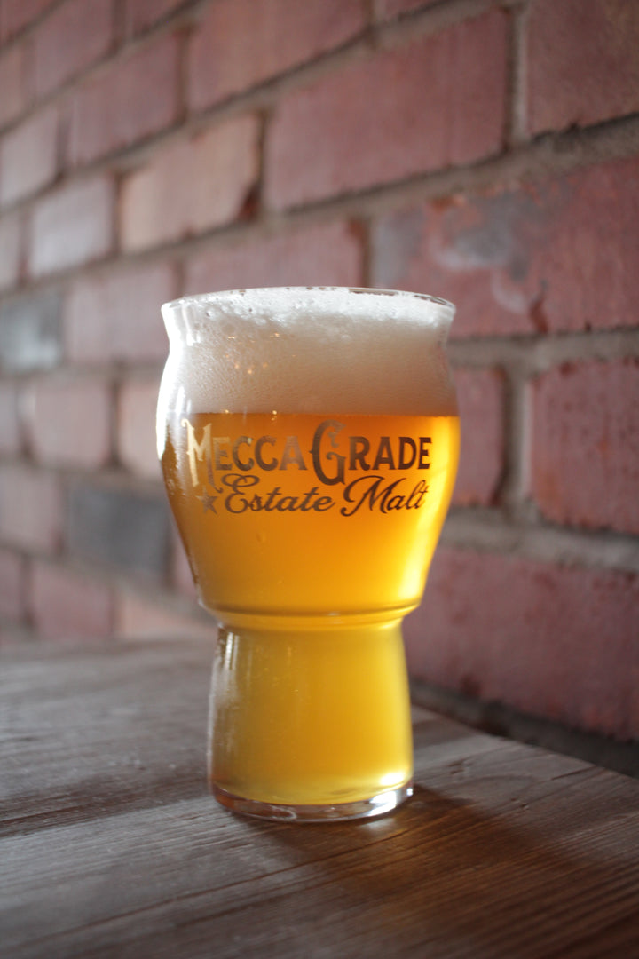 Mecca Grade Estate Malt Pint Glass