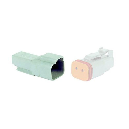 02 Pin Deutsch Receptacle | C-DT04-2P