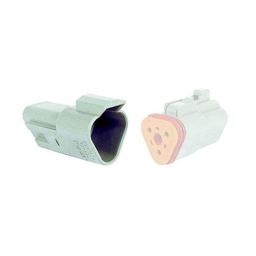 03 Pin Deutsch Receptacle | C-DT04-3P