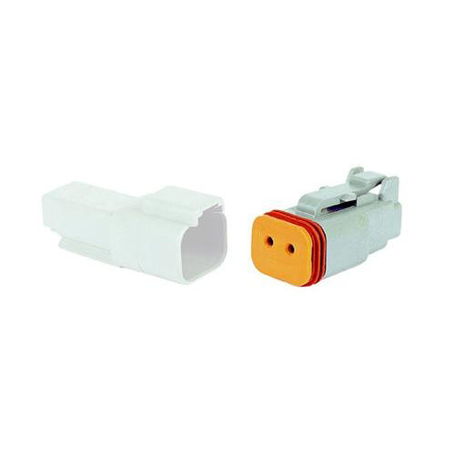 02 Pin Deutsch Plug | C-DT06-2S