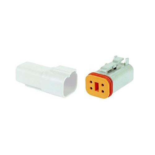 04 Pin Deutsch Plug | C-DT06-4S