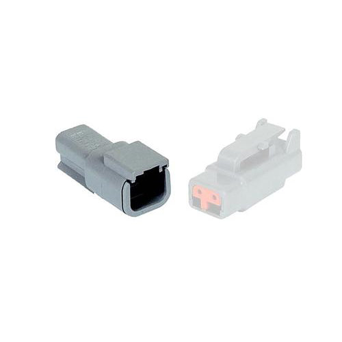 02 Pin Mini Deutsch Receptacle | C-DTM04-2P