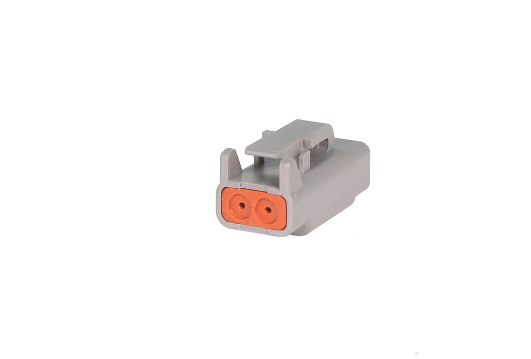 02 Pin Mini Deutsch Plug | C-DTM06-2S
