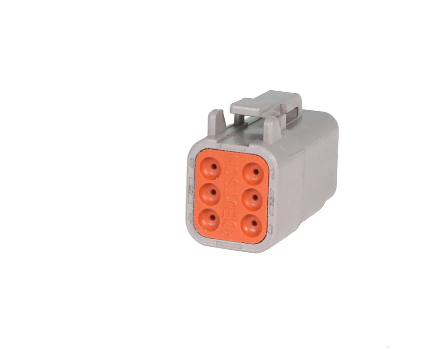 06 Pin Mini Deutsch Plug | C-DTM06-6S