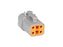 04 Pin Deutsch Plug | C-DTP06-4S