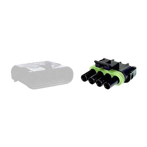 04 Pin Weather Pack Plug | C-WPP4