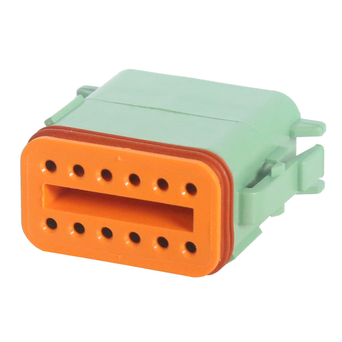 12 Pin Deutsch Plug | C-DT06-12SC