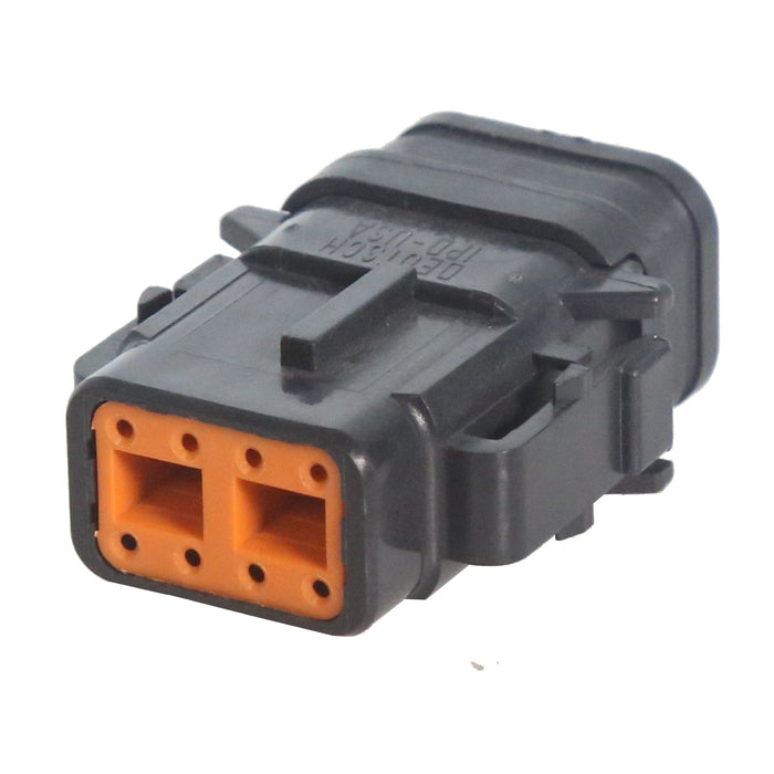 08 Pin Mini Deutsch Plug | C-DTM06-08SB